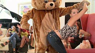 Girls love bears and cocks!