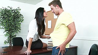 Dean India Summer calls in a student