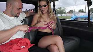 Horny college chick in our bus