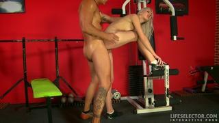 Brutal gym training