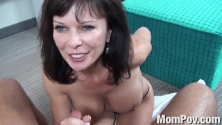 Swinger milf behind the scenes