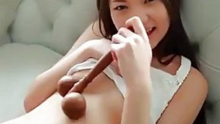 Asian Underwear Teasing Softcore