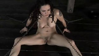 Sexy toy torturing for hot beauty