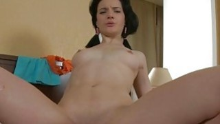 Hunk is pounding babe after getting juicy oral sex