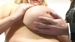 Blond BBW AND GIANT Amazing tits and pussy