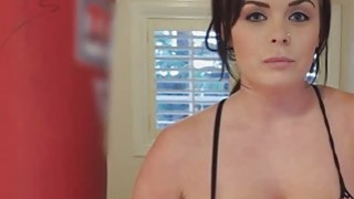 Fucking hot big tit boxer GF