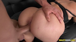 Mom with massive ass fucked doggysyle