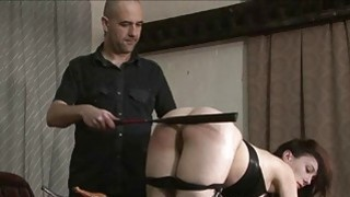 Kinky leather slave Fae Corbins amateur bdsm and h