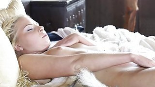 Fabulous glam porn with a nasty blonde