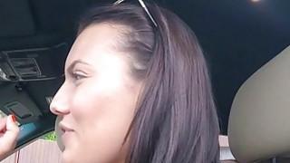 Handsome dude asks cab driver for sex