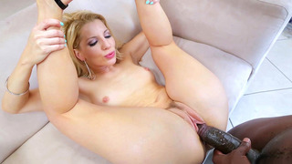 Ashley Fires enjoys some interracial pussy poking