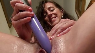 EUROPEMATURE Awesome granny Rose solo masturbation