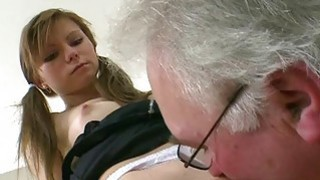 Chick is teachers ramrod with zealous blowjob
