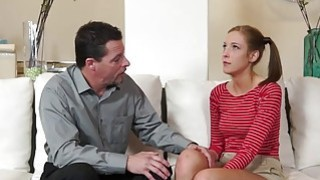 Step dad screwing Molly Mansons pussy doggystyle