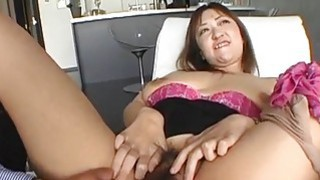 Mayumi huge tits mom enjoys a good fuck