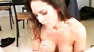 Cute whore gets hard dingdong in hands